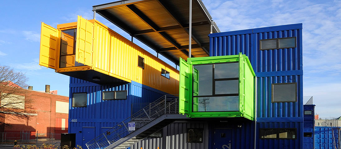 Recycled containers upcycling shipping containers for Structure container maritime