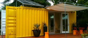 recycled containers home