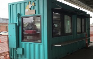 iso container conversion food outlet