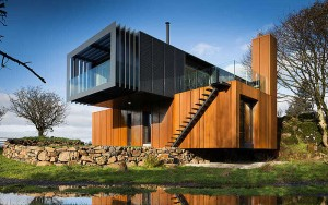 shipping container home ireland
