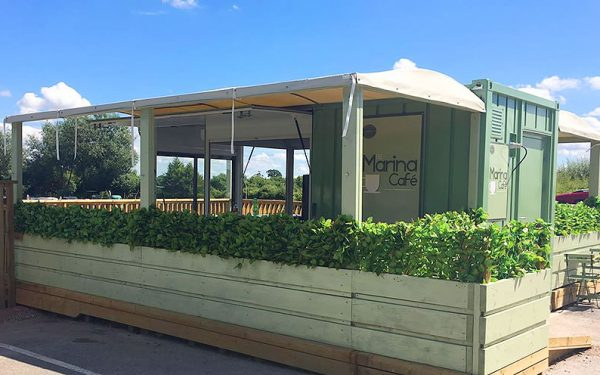 marina cafe devizes marina converted container