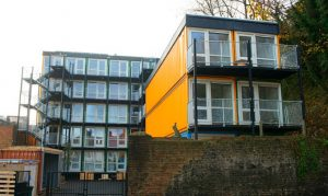 stacked container homes brighton