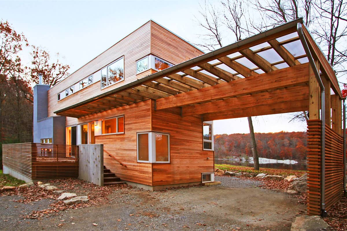 how to build a house from recycled shipping containers
