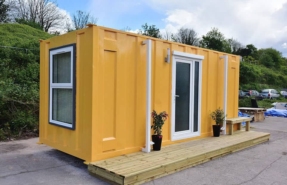 Shipping Container Converted Into Luxury Apartments