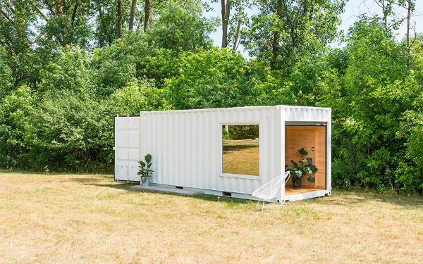 Retail Shipping Container Conversion