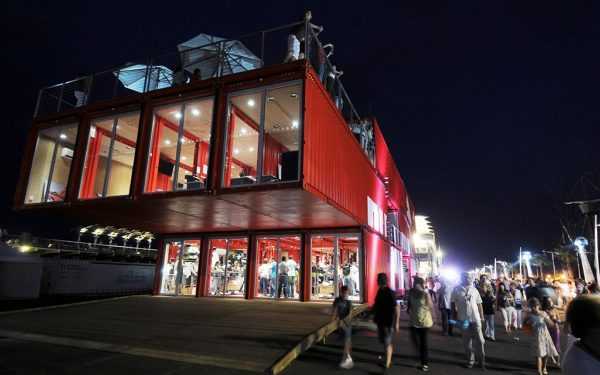 Experiential Shipping Container Complex that became Puma City
