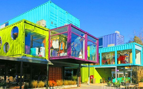 New Shipping Container Shopping Mall in Buenos Aires