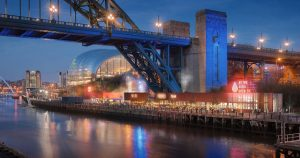 gateshead riverside shipping container village