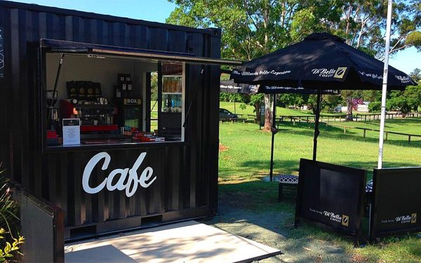 5 Reasons to open your New Cafe in a Shipping Container