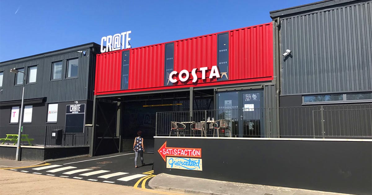 Costa Coffee Container Conversions Recycling