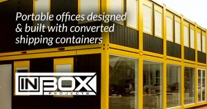 portable offices built shipping containers