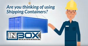 thinking using shipping containers