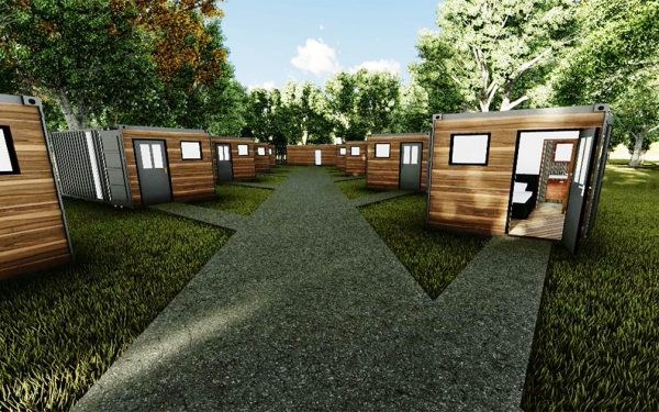 Shipping Container Holiday Pods