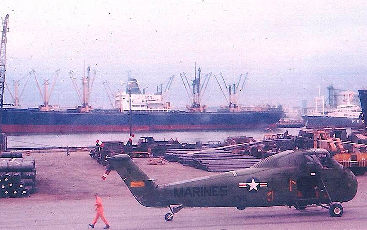 container ship vietnam war
