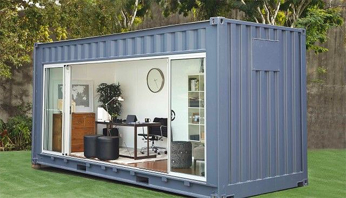 20ft garden container office