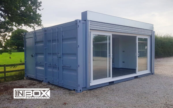 equestrian centre shipping container conversion