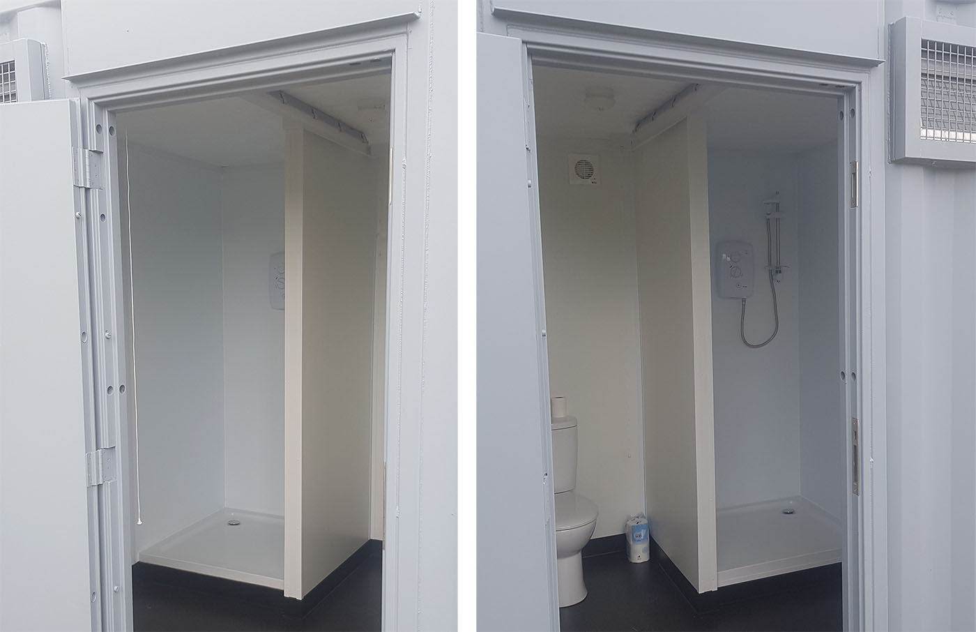 shower cubical container
