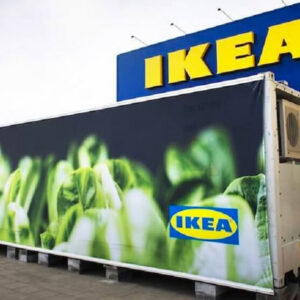 IKEA's Vegan Shipping Containers