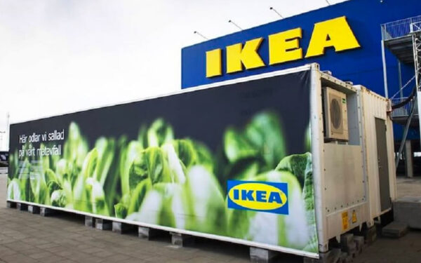 ikea shipping container hydroponic farm
