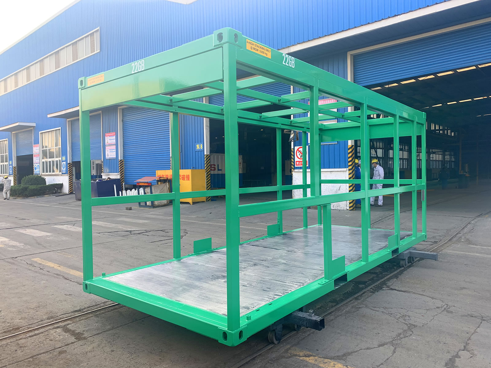 20ft open frame shipping container pallet factory china