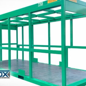 Open Frame 20ft ISO CSC Containers (equipment frames)
