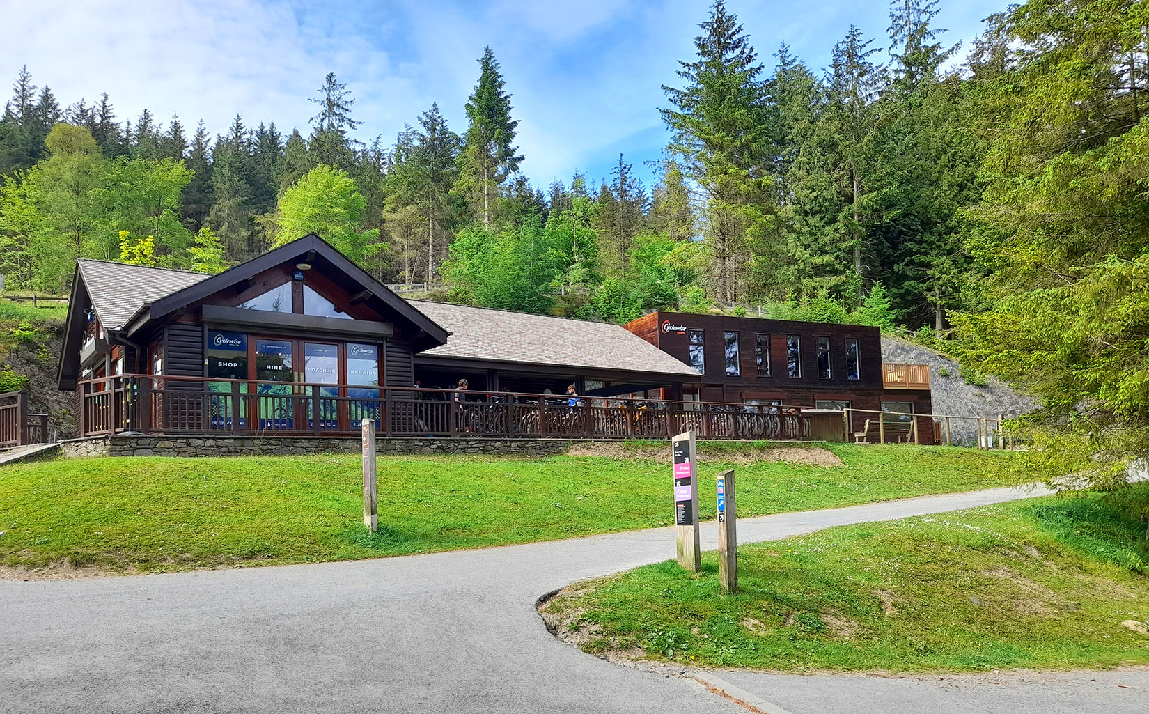 cyclewise bike hire shop whinlatter forest