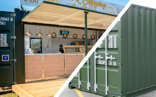 pop-up food container converted ainsdale